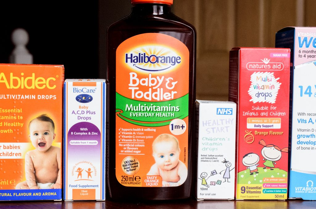Haliborange Baby and Toddler Multivitamins