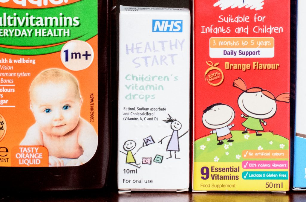 Healthy Start Children's Vitamin Drops