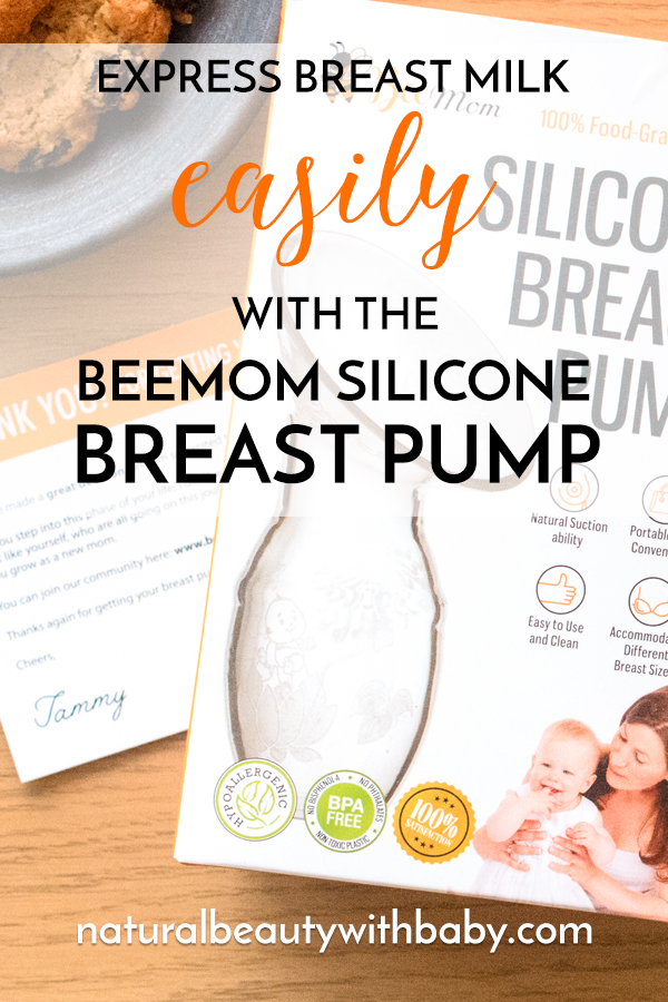 Express breast milk easily and discreetly with the Bee Mom Silicone Breast Pump