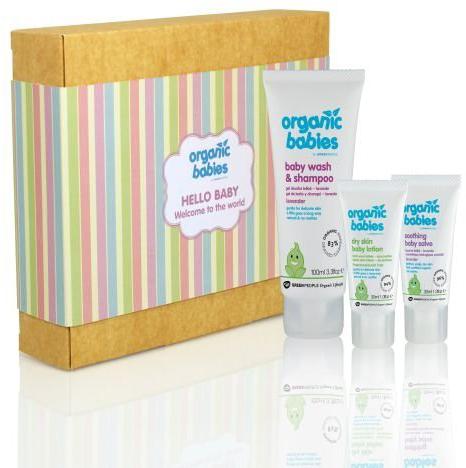 Green People Hello Baby Gift Set