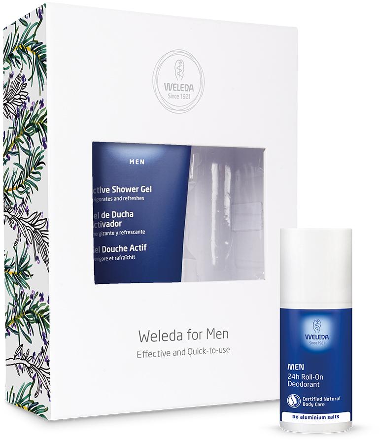 Weleda Men's Body Wash Deodorant Duo