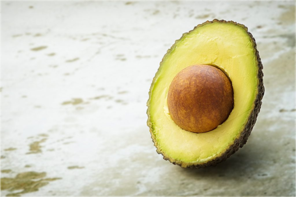 Avocado is well known for its moisturising ability