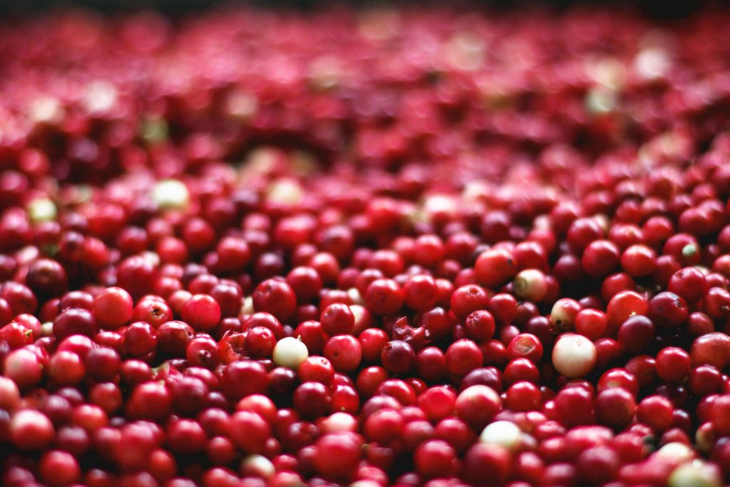 Cranberry for hair colour