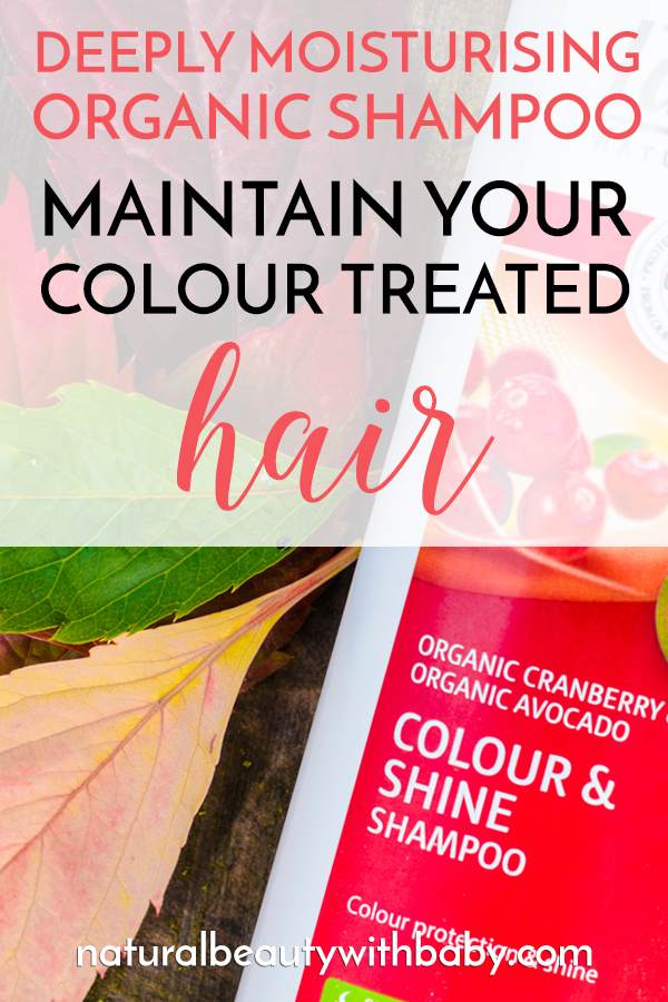 Maintain your colour-treated hair with this deeply moisturising shampoo specially formulated for dyed hair. Organic and natural. Find out the amazing benefits!