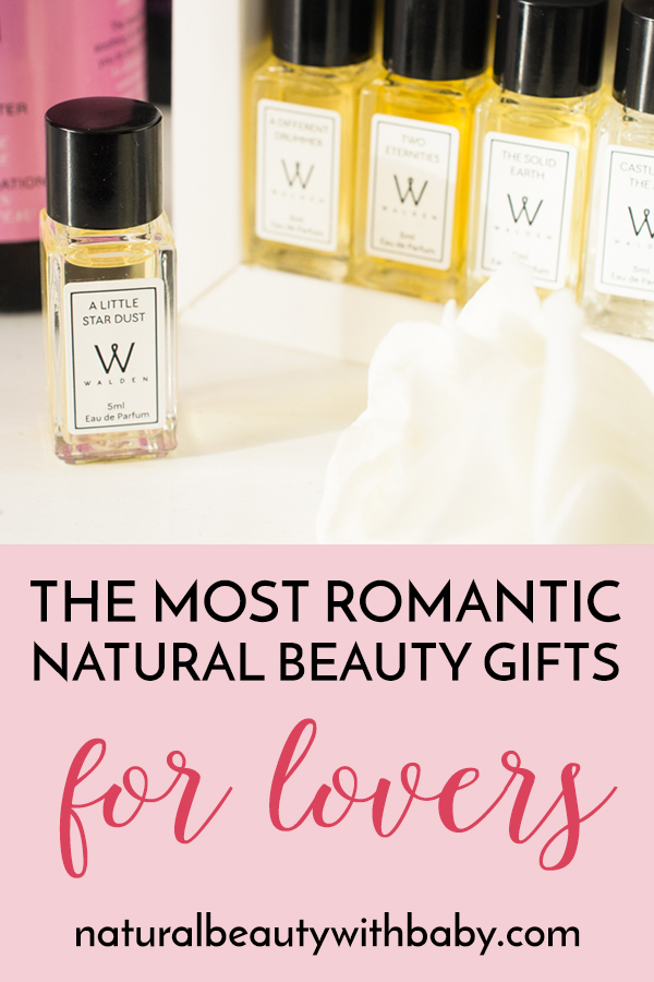 Take a look at my selection of the most romantic natural beauty gifts for lovers on Valentine's day! Whether you're in a relationship, or single, there's something for everyone to enjoy. ♡