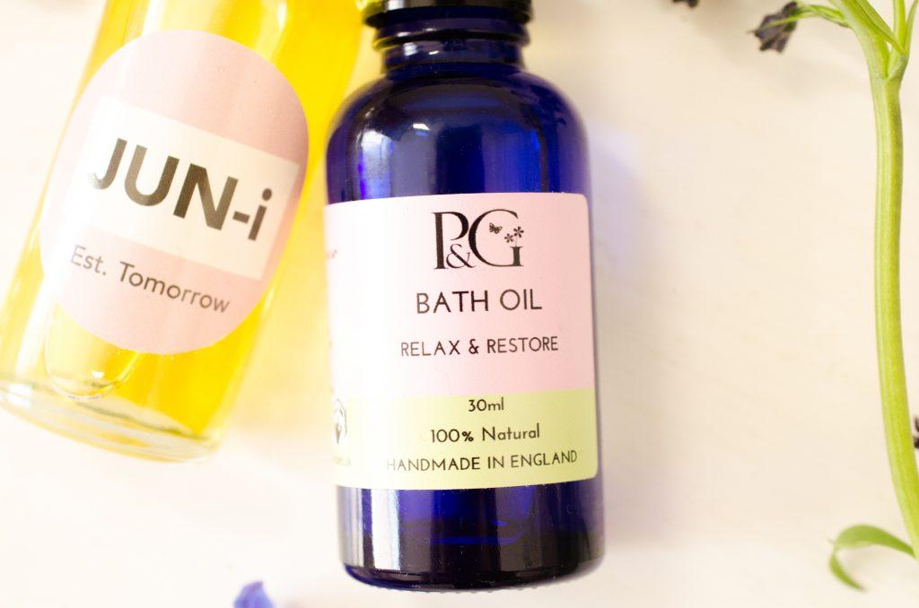 Pink&Green Relax & Restore Bath Oil