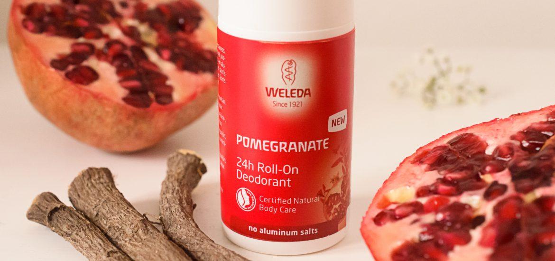 Weleda Pomegranate Deodorant review