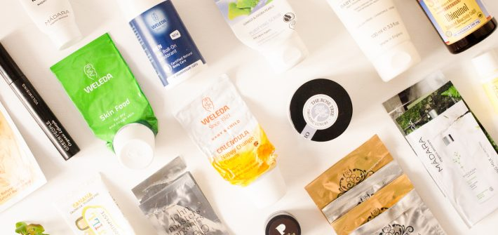 April 2018 skincare, beauty, and health empties