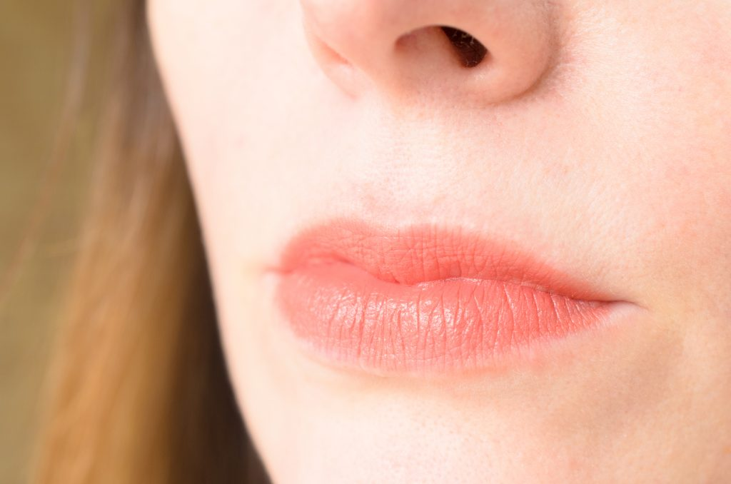 Lavera Beautiful Lips Colour Intense Lipstick in Matt 'n Peach swatch