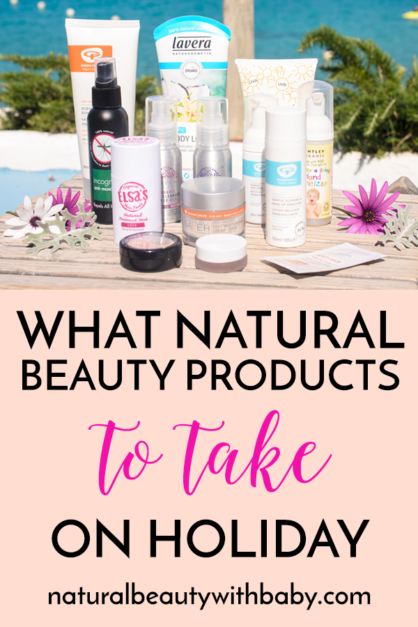 Wondering what natural products to take on holiday? Then take a look at my holiday favourites in natural skincare and beauty for some great ideas!