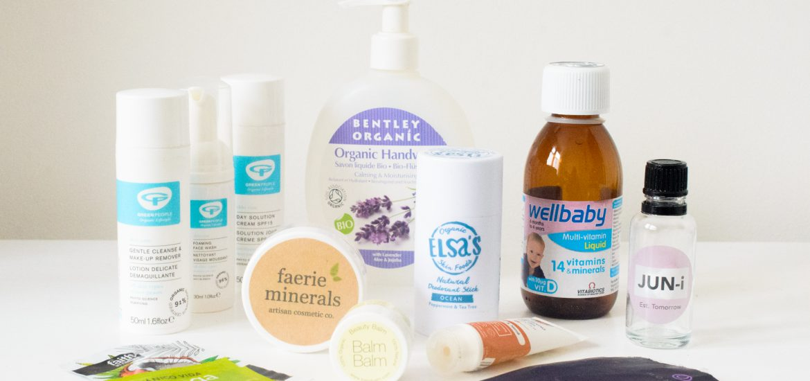 May 2018 skincare, beauty, and health empties