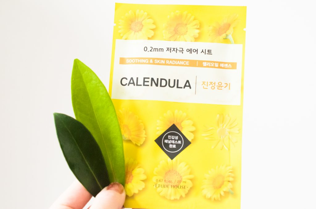 Etude House 0.2mm Therapy Air Mask Calendula