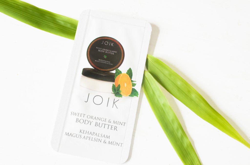 JOIK Sweet Orange & Mint Body Butter