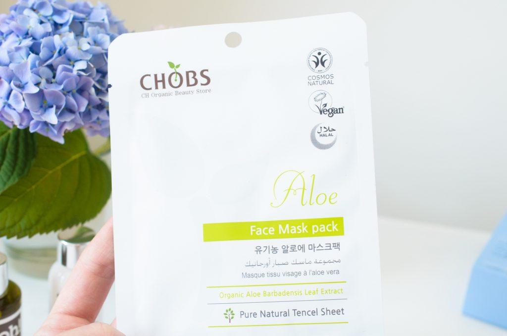 CHOBS Aloe Sheet Mask