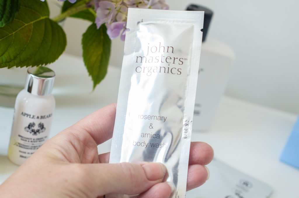 John Masters Organics Rosemary & Arnica Body Wash Sample
