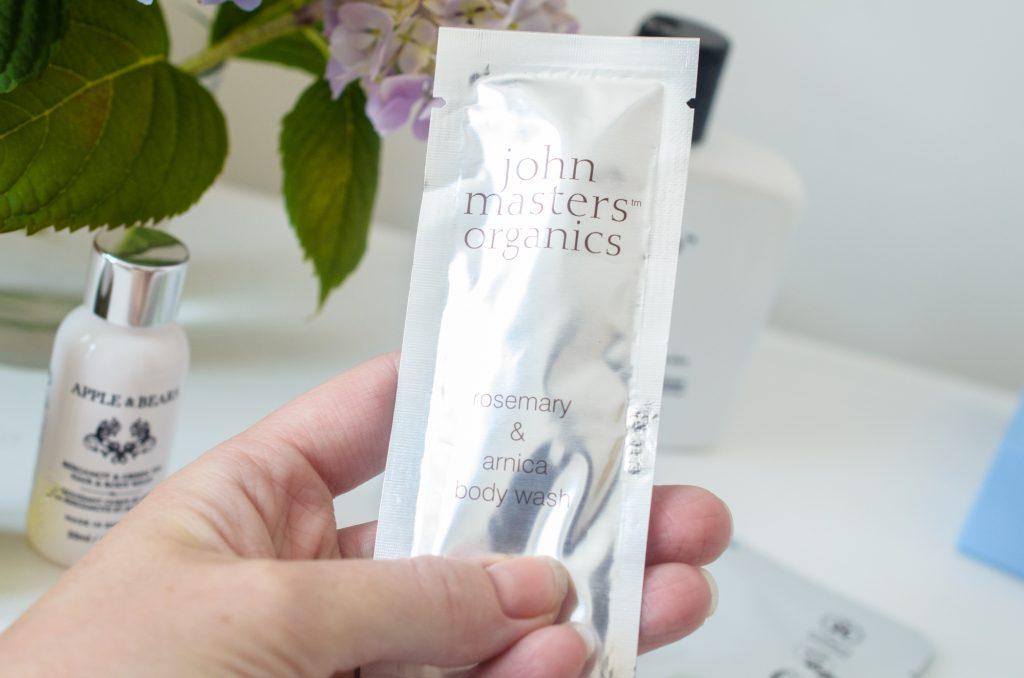 John Masters Organics Rosemary & Arnica Body Wash Sample
