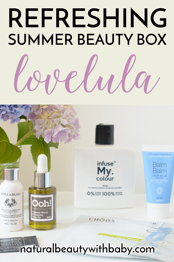 A refreshing and soothing summer natural beauty subscription box from LoveLula. Read my full review of the LoveLula July 2018 Beauty Box.