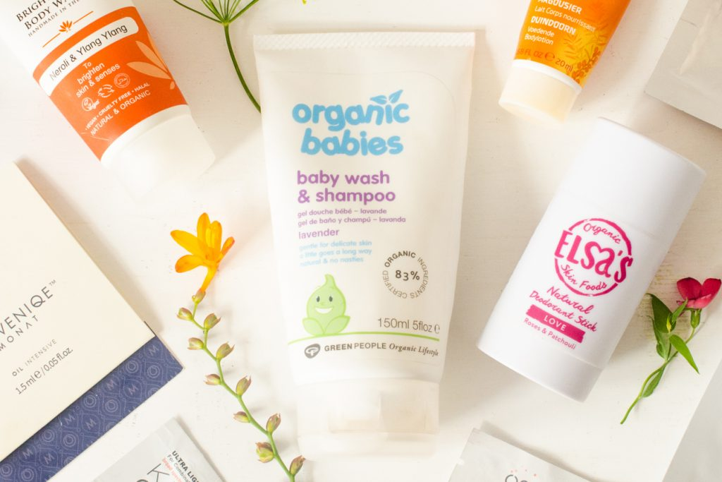 Green People Baby Wash and Shampoo in Lavender