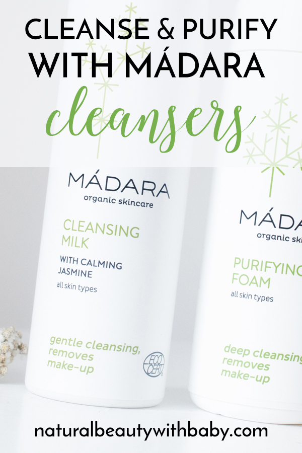 My review of 2 certified organic Mádara cleansers, including their Cleansing Milk and Purifying Foam. Remove your makeup and deep cleanse without stripping your skin!