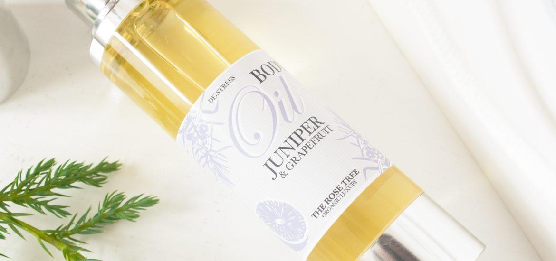 The Rose Tree De-Stress Body Oil