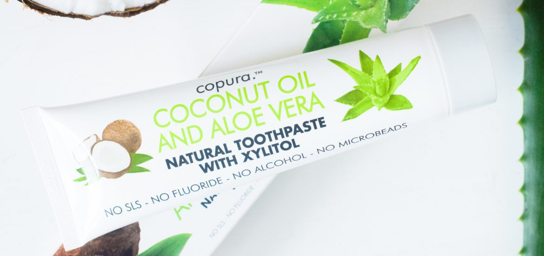 Copura Coconut and Aloe Toothpaste