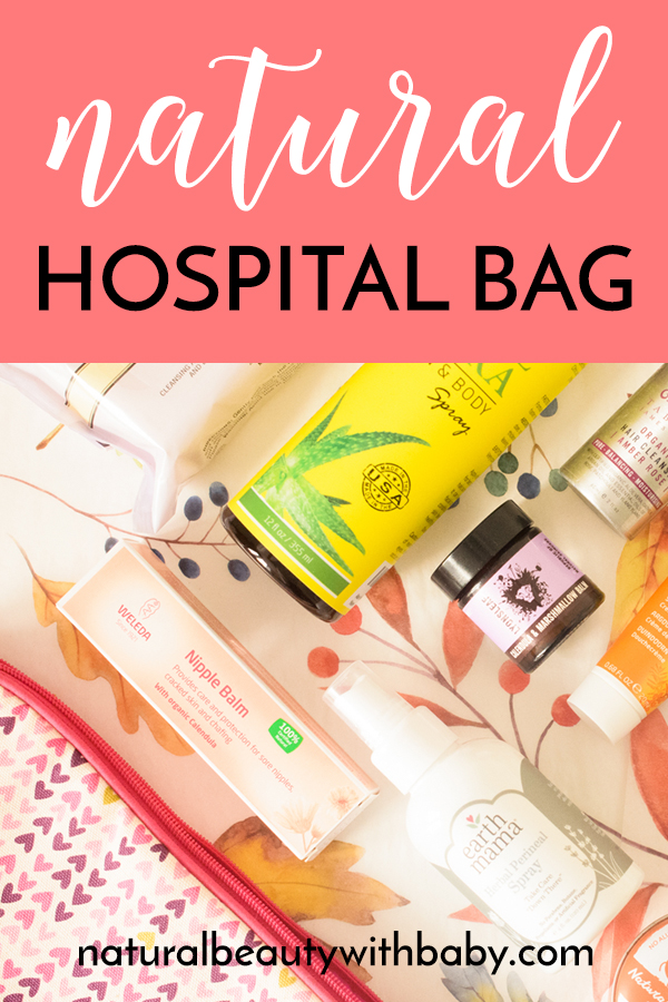 What natural health and beauty items should you take to hospital to help you recover from labour naturally? Looking for ideas for a capsule natural hospital bag for your overnight stay? Read my list to find out more!