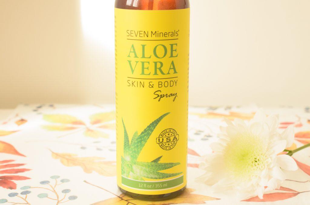 Seven Minerals Aloe Vera Spray