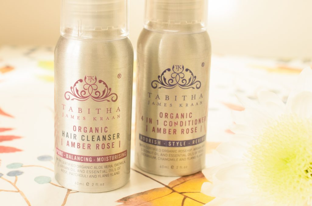 Tabitha James Kraan Shampoo and Conditioner Minis