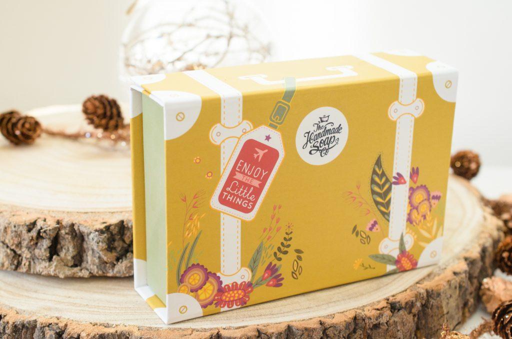 The Handmade Soap Company Mini Suitcase Travel Kit