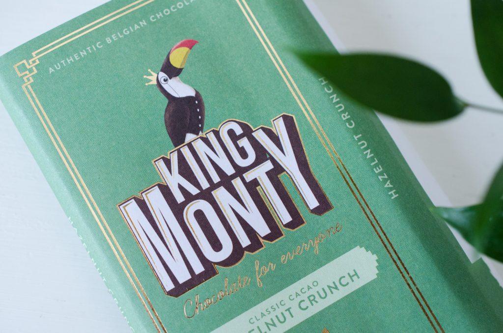 King Monty Hazelnut Crunch Chocolate