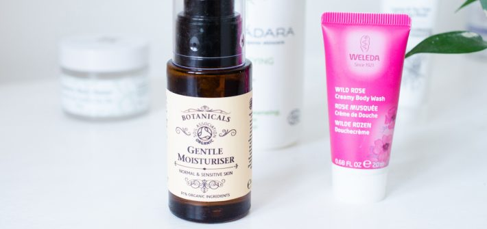March 2019 natural beauty empties