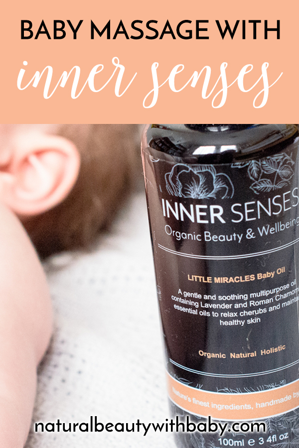 The perfect organic baby oil for baby massage and to treat skin niggles, read my full review of Inner Senses Little Miracles Baby Oil. #naturalbabyoil #organicbabyoil #naturalskincare