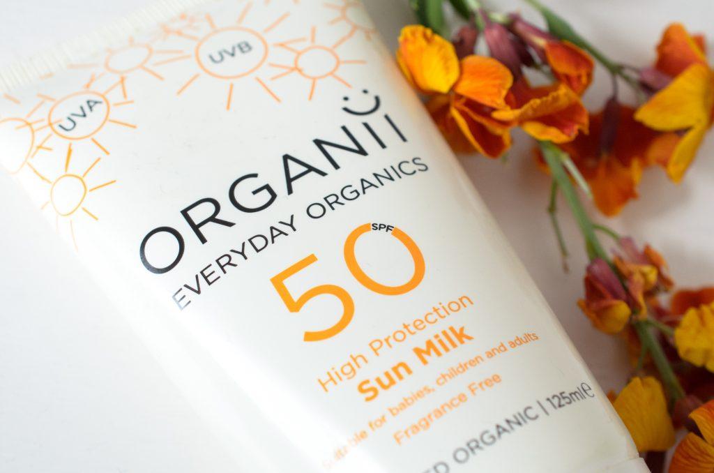 Organii Sun Milk SPF50