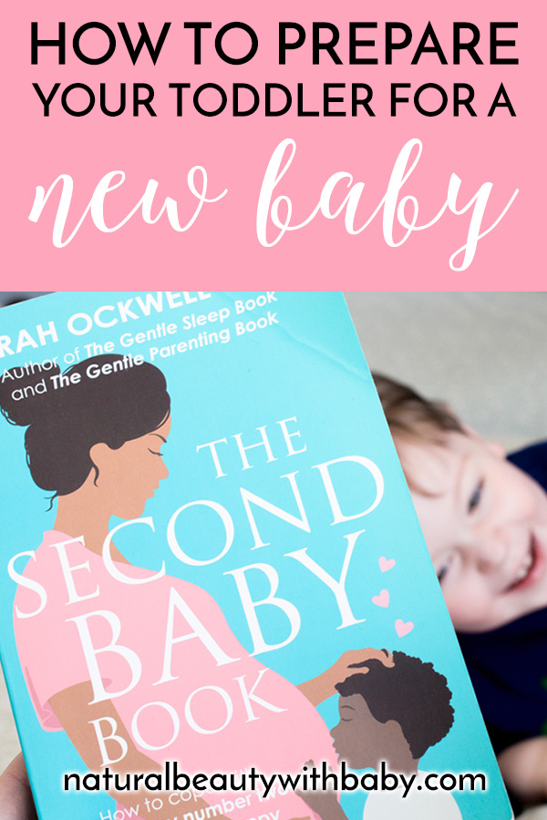 Review of The Second Baby Book, Sarah Ockwell-Smith's essential reading to prepare your firstborn and yourself for your newborn with gentle parenting. #gentleparenting