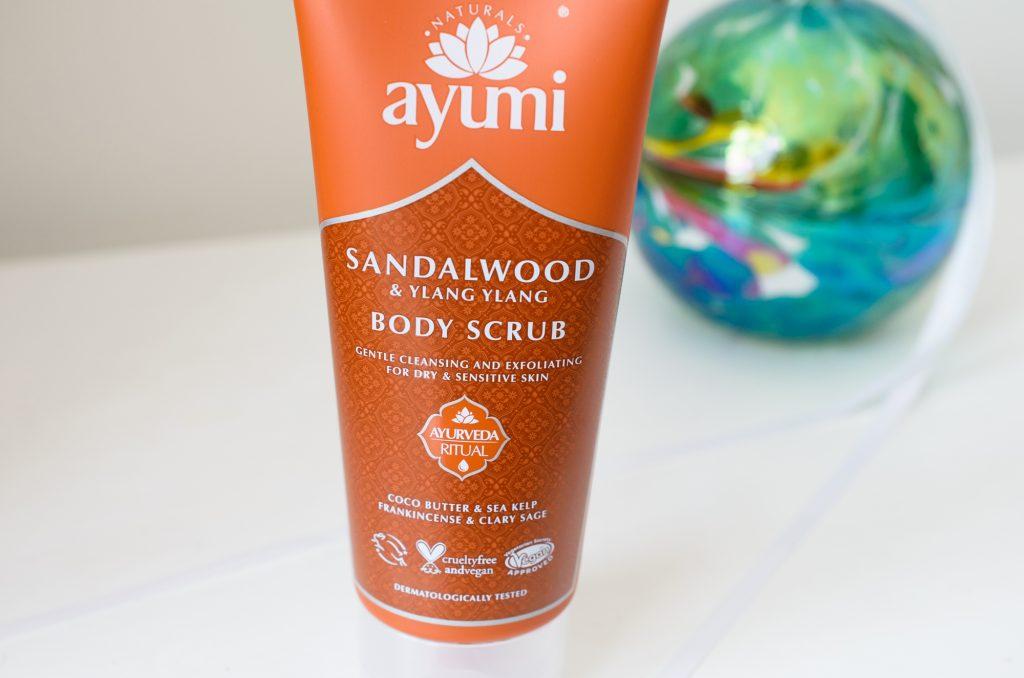 Ayumi Sandalwood Body Scrub