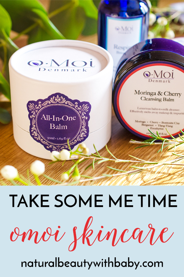 Take some time for yourself with o.Moi Skincare, a wonderfully elegant natural skincare range with natural products for you and your little ones. #naturalskincareproducts