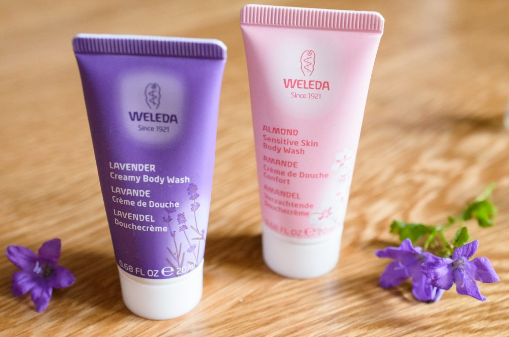 Weleda Body Wash in Lavender and Sensitive