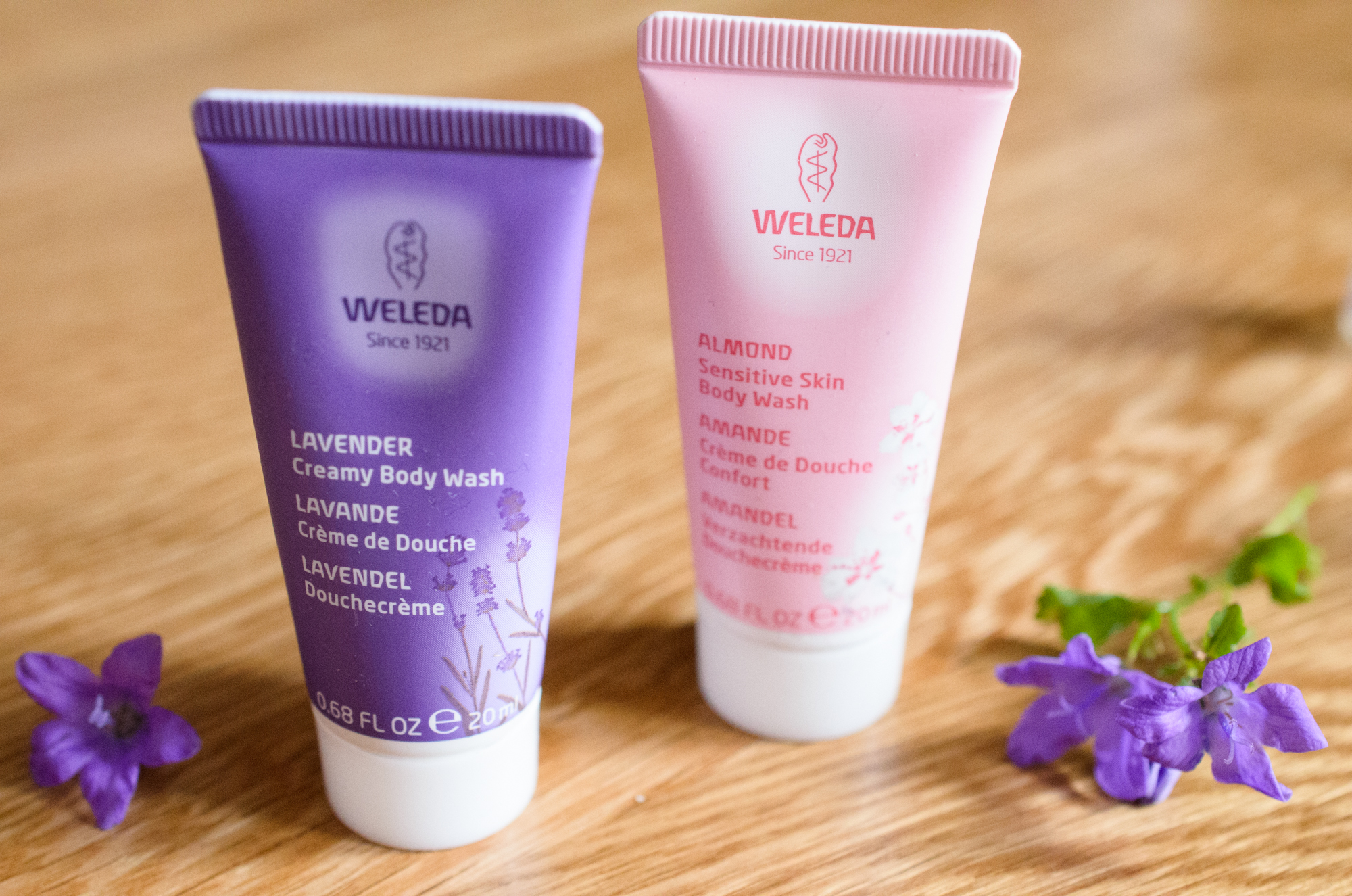 Weleda Body Wash in Lavender and Sensitive
