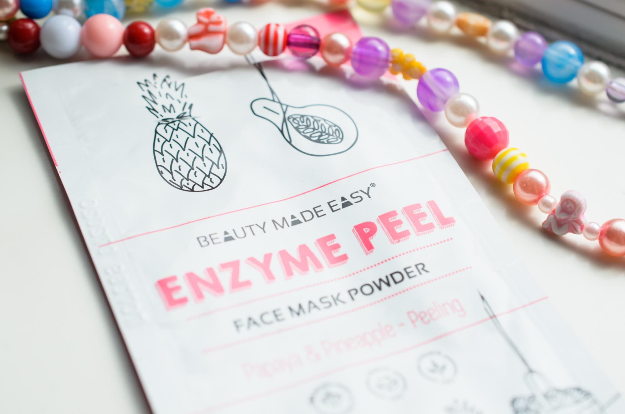 Beauty Made Easy Enzyme Peel