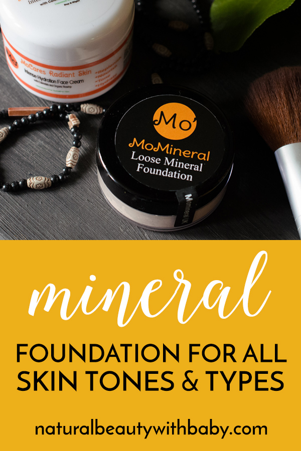 MoMineral make effective & affordable natural beauty for all skin tones and types. Check out my review of their mineral foundation & hydrating face cream. #naturalbeautyproducts #naturalmakeup #mineralmakeup