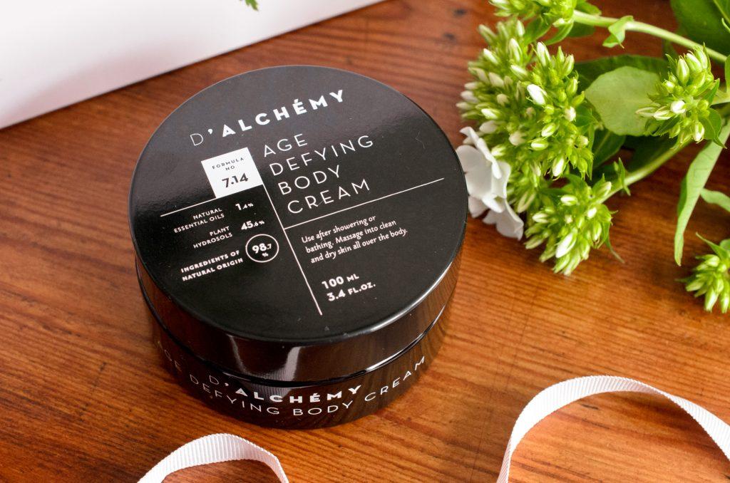 D'Alchemy Age Defying Body Cream