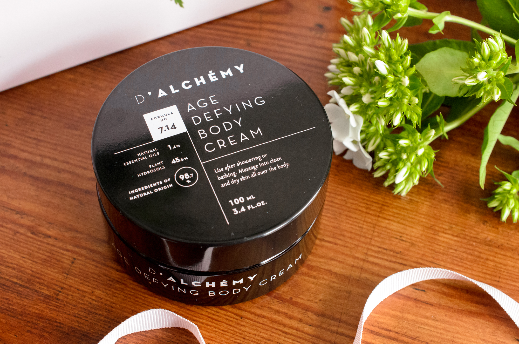 D'Alchemy Age Defying Body Cream