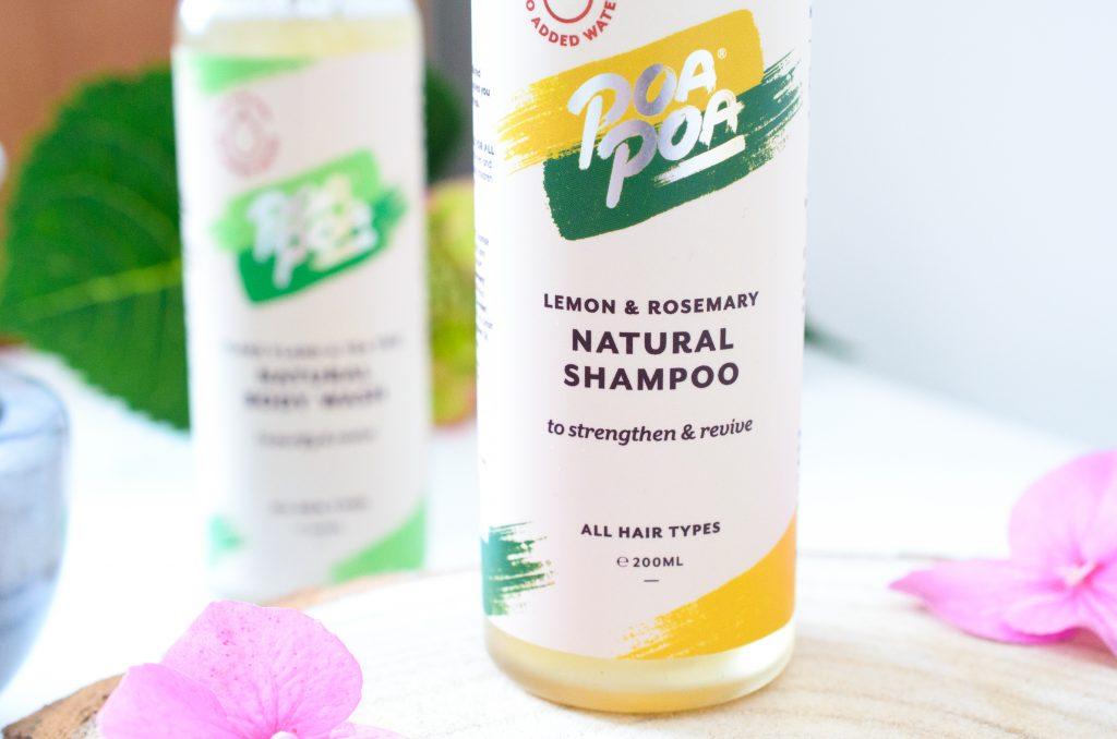 Poapoa Lemon & Rosemary Shampoo
