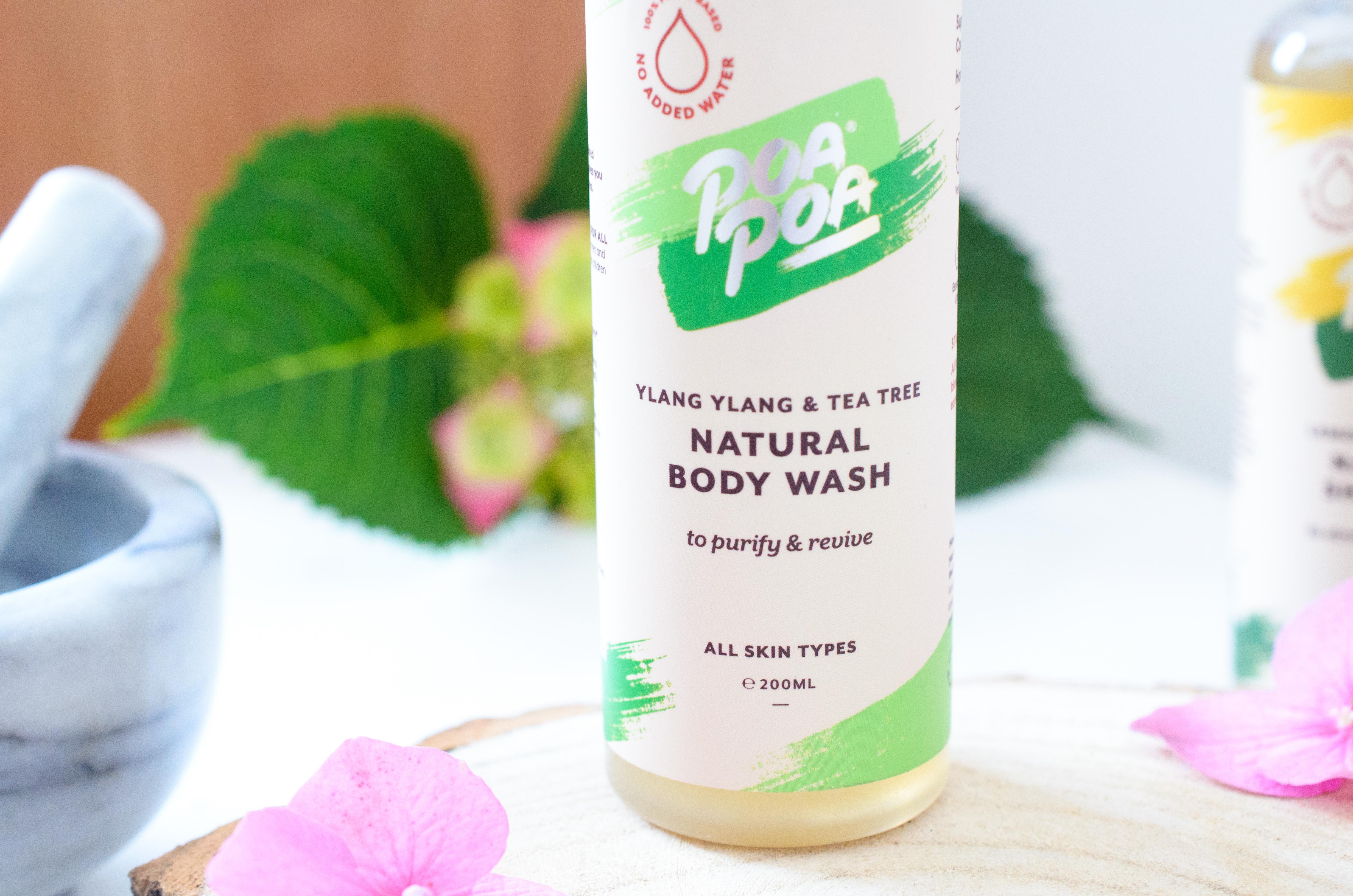 Poapoa Ylang Ylang & Tea Tree Body Wash