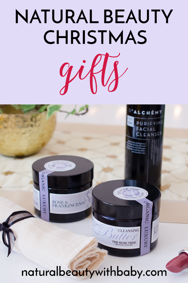 Looking for a natural beauty Christmas gift guide? Here's an opulent selection of natural beauty Christmas gifts to make a big difference to your skin! #giftguide #beauty #skincare #naturalbeauty