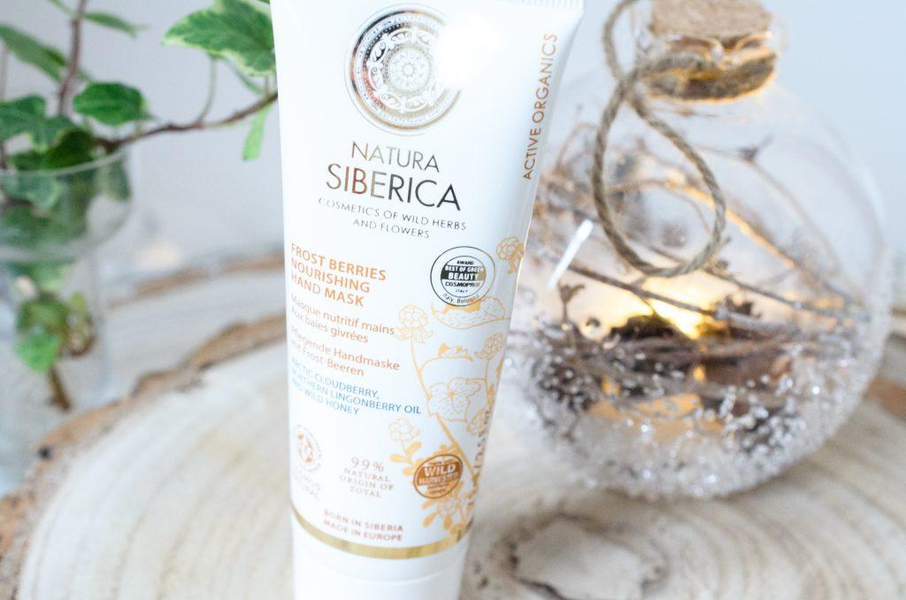 atura Siberica Frost Berries Nourishing Hand Mask