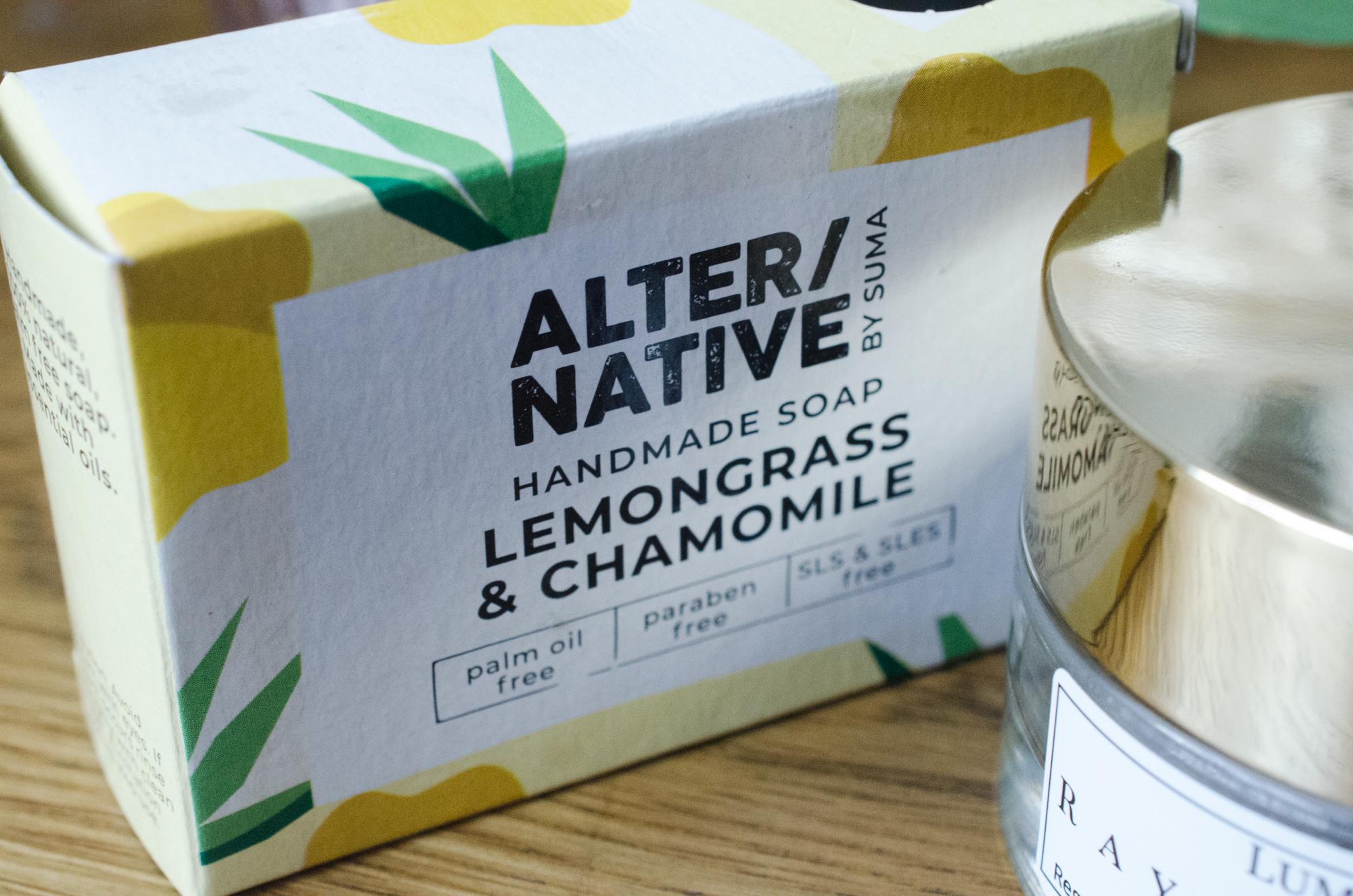 Alter/native Lemongrass & Chamomile Soap
