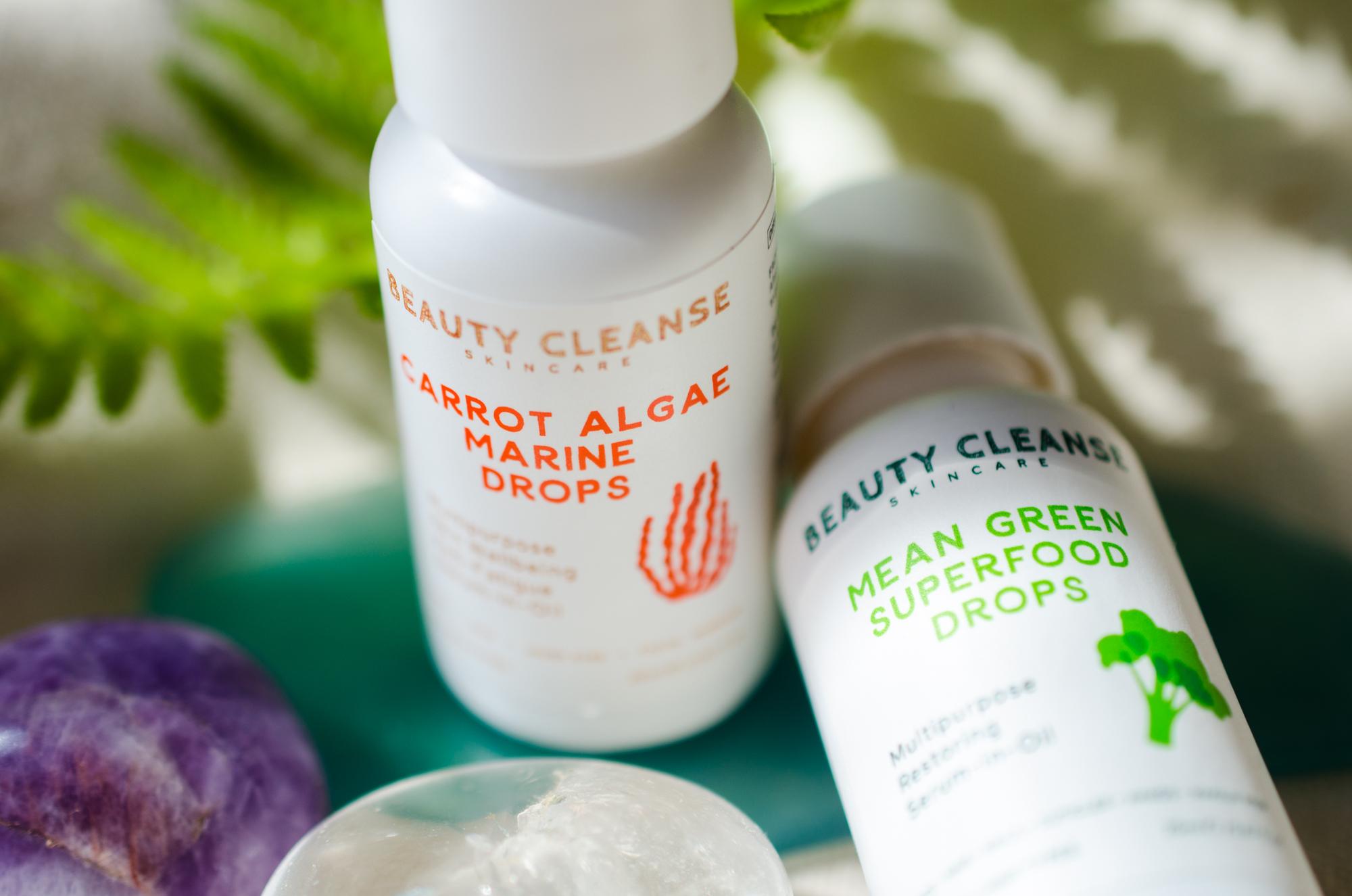 Beauty Cleanse Skincare facial oils