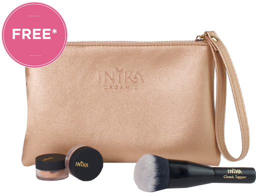 Free Inika Glow On The Go Kit