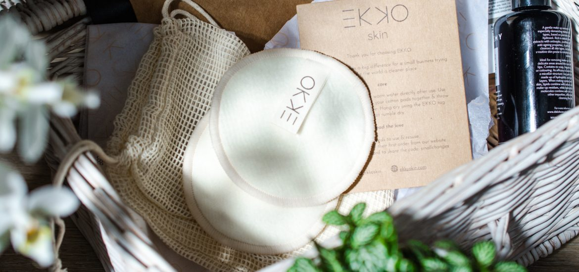 EKKO Reusable Hemp Cotton Pads